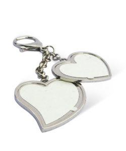Metal Heart Family Photo Keychain Gift Buy Shop Send Online Kathmandu Nepal
