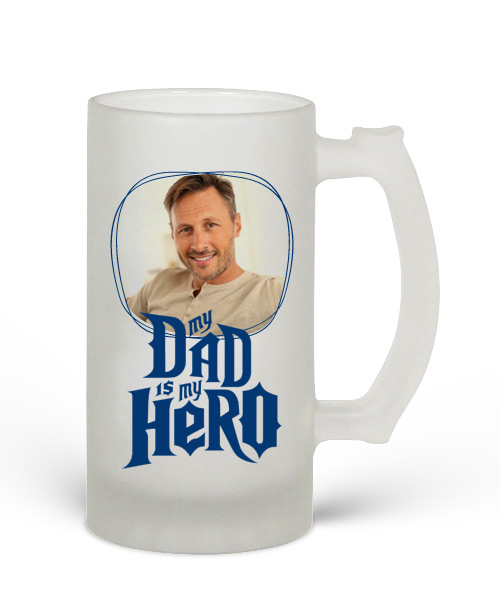 Beer Mug Frosted Gift