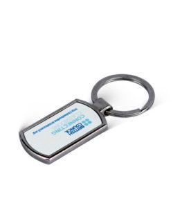 Metal Rectangle Photo Keychain Gift Buy Shop Send Online Kathmandu Nepal