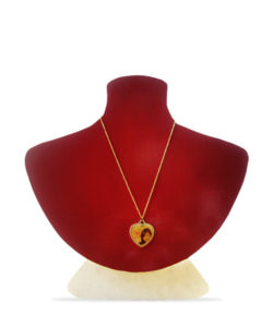 Photo Pendant Golden Heart Shape Gift Buy Shop Send Online Kathmandu Nepal