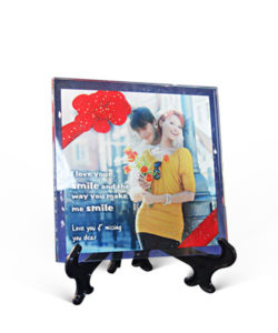 Photo Frame Glass Square Gift Buy Shop Send Online Kathmandu Nepal