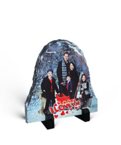 Rock Photo Slate Oval Gift Buy Shop Send Online Kathmandu Nepal