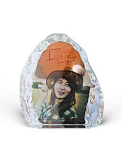 personalized iceberg crystal