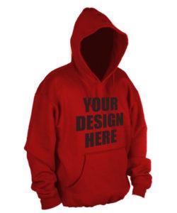 promotional hoodie