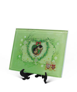 customized glass photo frame