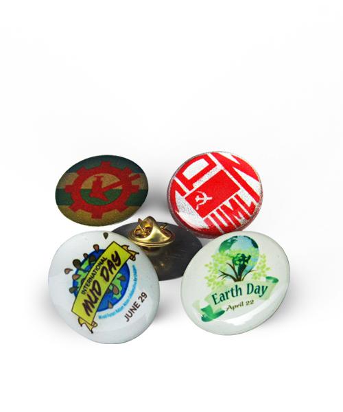 Metal Pin Badge 1 Gift