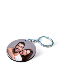 MDF Round Photo Keychain Gift Buy Shop Send Online Kathmandu Nepal