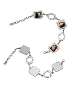 Square Photo Bracelet Gift Buy Shop Send Online Kathmandu Nepal