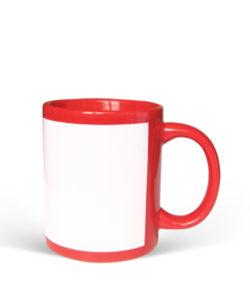 Red White Mug Gift Buy Send Shop Kathmandu Nepal