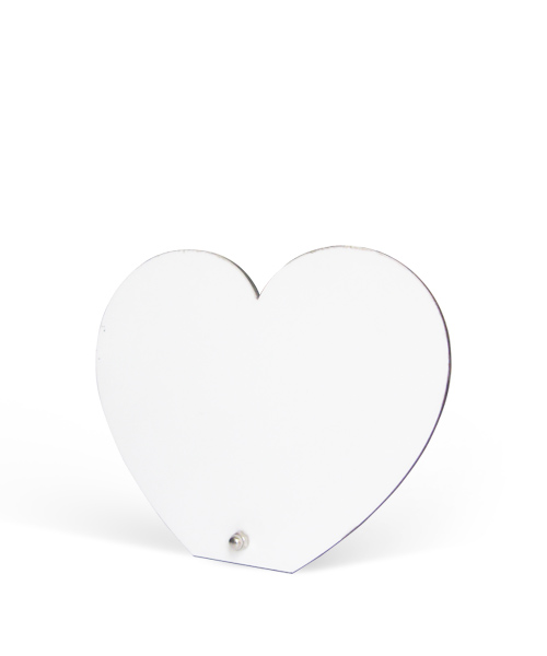 Wooden Heart Photo Stand Gift