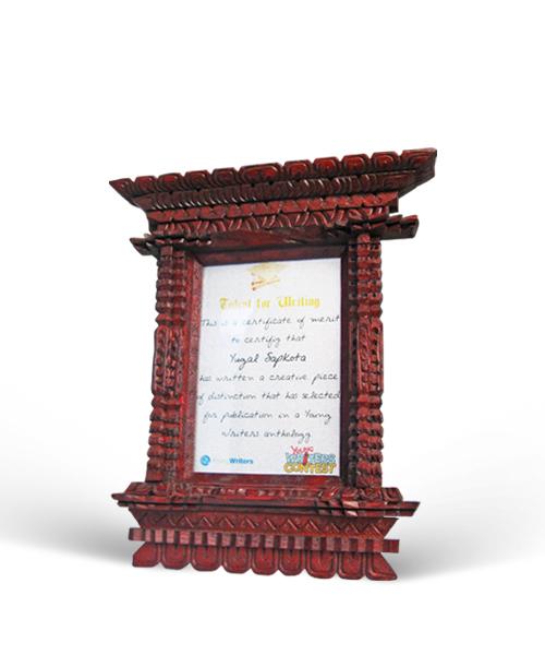 Wooden Frame 01 Gift Buy Send Kathmandu Nepal Upahar haru Gifts ...