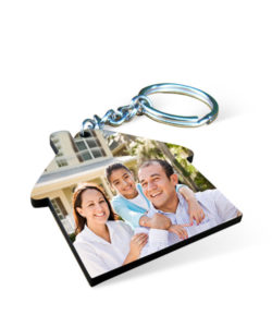 MDF House Photo Keychain Gift Buy Shop Send Online Kathmandu Nepal