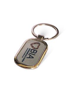 Metal Rounded Rectangle Keychain Gift Buy Shop Send Online Kathmandu Nepal