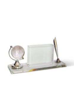 Pen Stand Crystal with Globe Gift Buy Shop Send Online Kathmandu Nepal