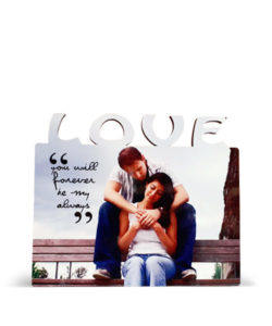 MDF Love Photo Frame Stand Gift Buy Shop Send Online Kathmandu Nepal