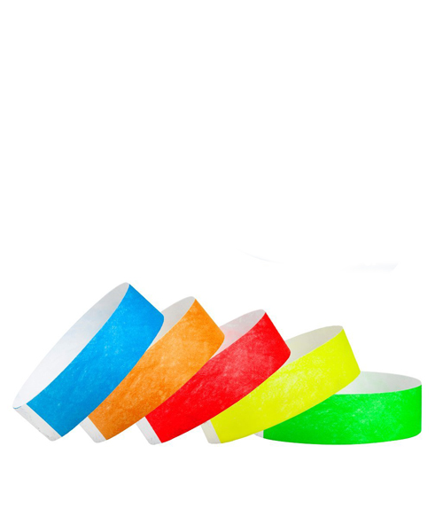 Wristband Tyvek Paper Solid